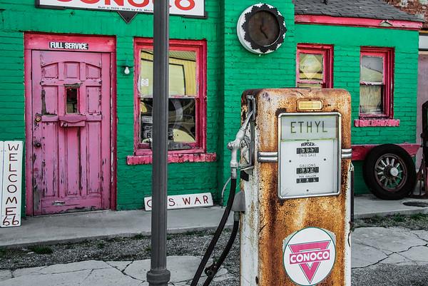 Little Green Gas Station
