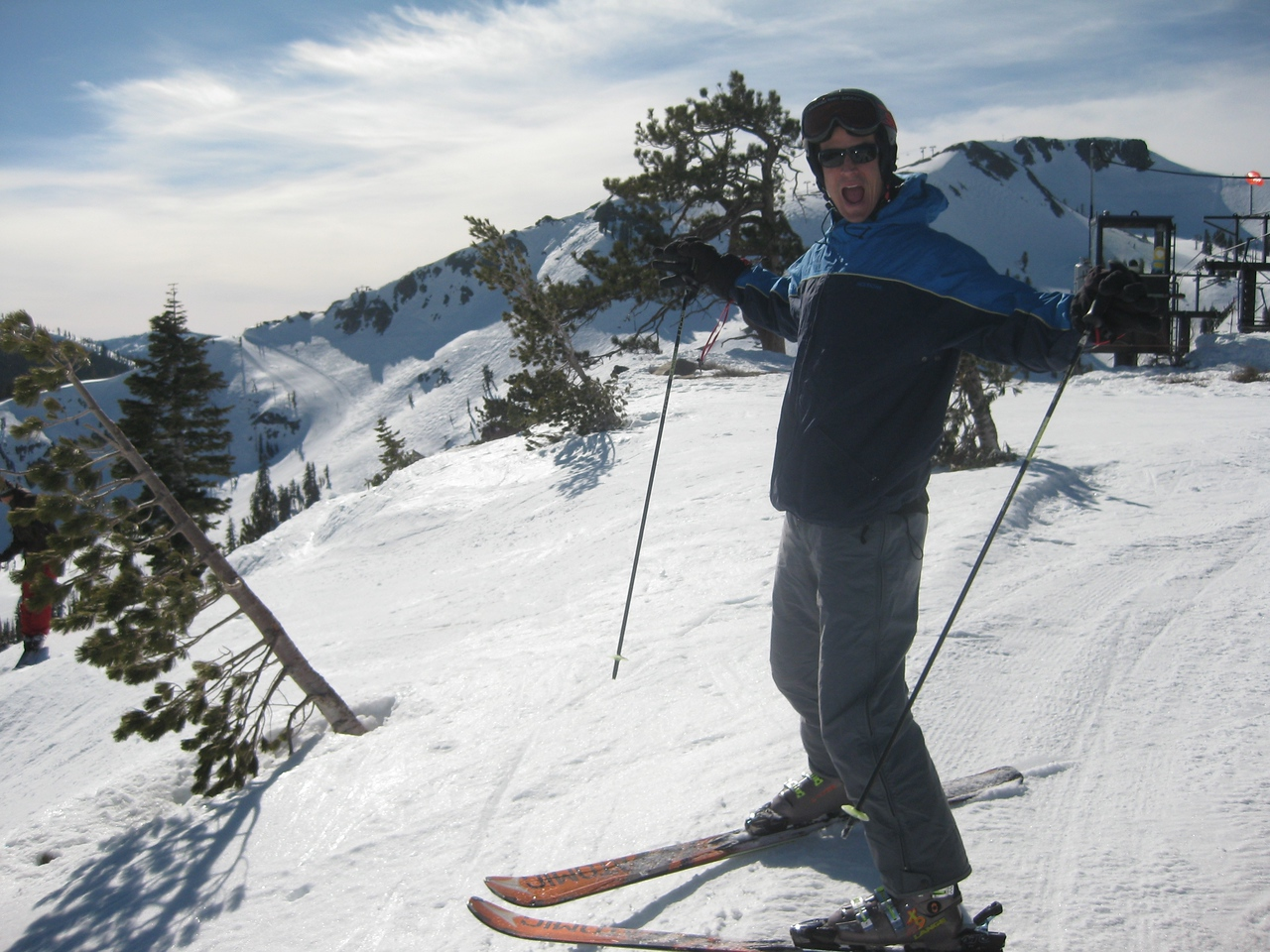 Kurty at Squaw Valley