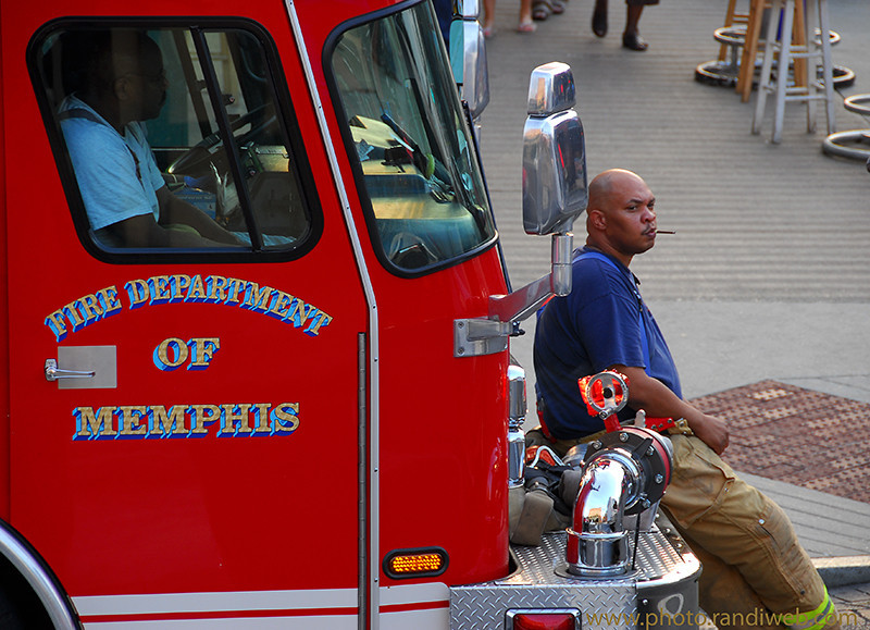 <center><Strong>On fire for Memphis Firedepartment