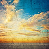 """Salt Flat Sunrise Fresco"" - Bonneville Salt Flats, Utah/Nevada Border, USA"