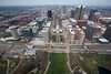 St. Louis from the Arch, St. Louis Missouri