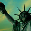 """Liberty Enlightening the World"", Liberty Island, New York City."