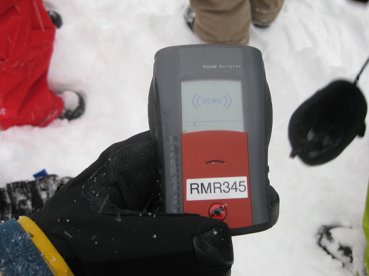 Avalanche training for Cat skiing