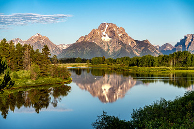 Sunrise at Oxbow Bend
