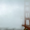'Bridge over cloudy waters' - Not many better sights than seeing the Golden Gate Bridge under cloudy skies.