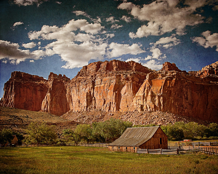 """Protected"" Capitol Reef National Park, Utah. USA"