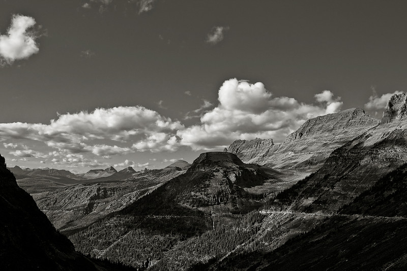 """Clear Day--Ansel-esque"" Glacier National Park, Kalispell, Montana"