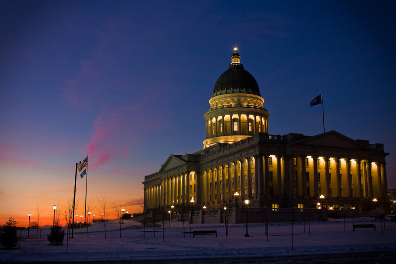 The Utah State Capitol. One of my favorite places.
