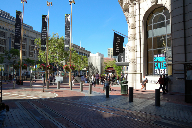 Market Street & Powell, San Francisco