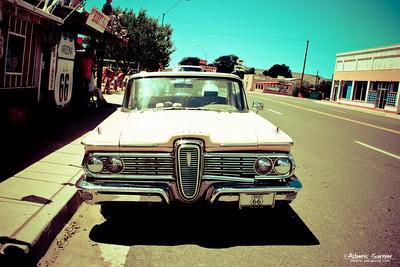 Road 66 - Pink Cadillac