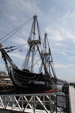 USS Constitution & USS Cassin Young 8/2017