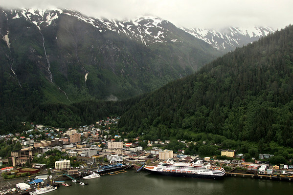 Juneau in the rain