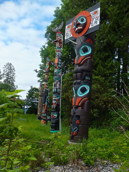 Totems, Stanley Park