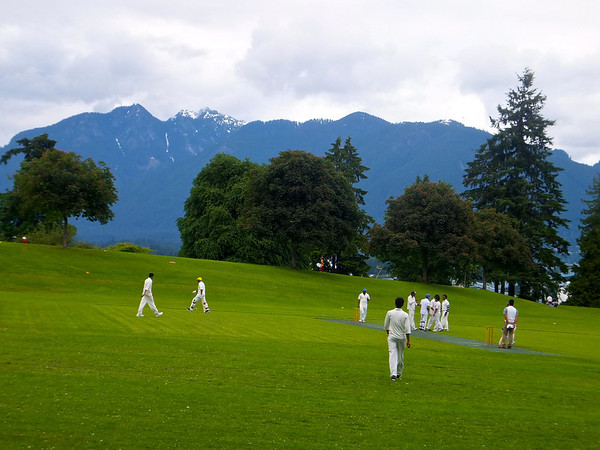 A pleasant morning's sport in Stanley Park