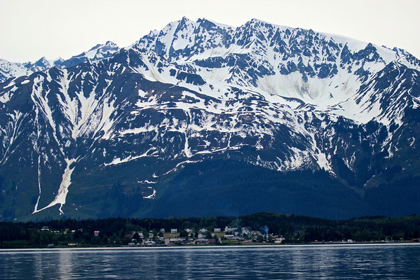 Small town of Haines, Alaska