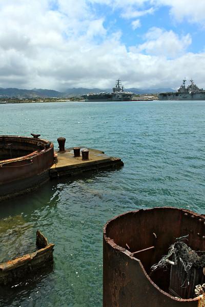 The Arizona, Pearl Harbor, Honolulu
