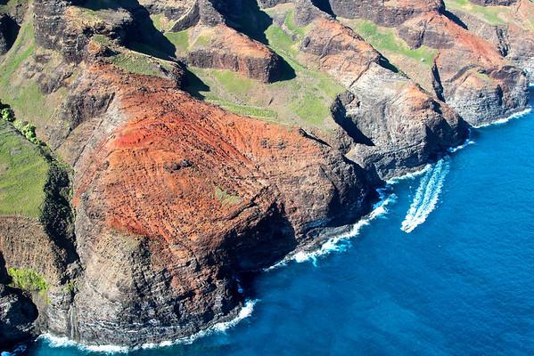 Na Pali coast, Kauai July 2012