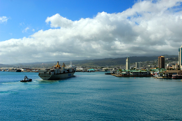 Oahu seaport