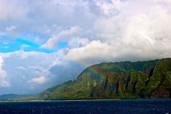 Leaving Kauai Hawaii, July 2012