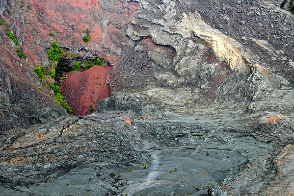 Kilauea Iki Crater, Big Island July 2012