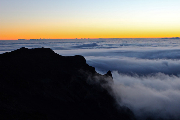 Sunrise from Haleakala Crater, Maui July 2012