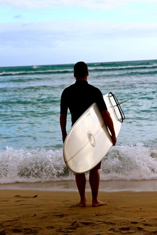 Waikiki Oahu, Hawaii, July 2012
