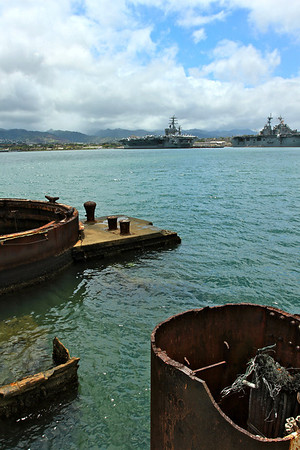 The Arizona, Pearl Harbor, Honolulu