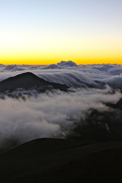 Sunrise from Haleakala Crater, Maui