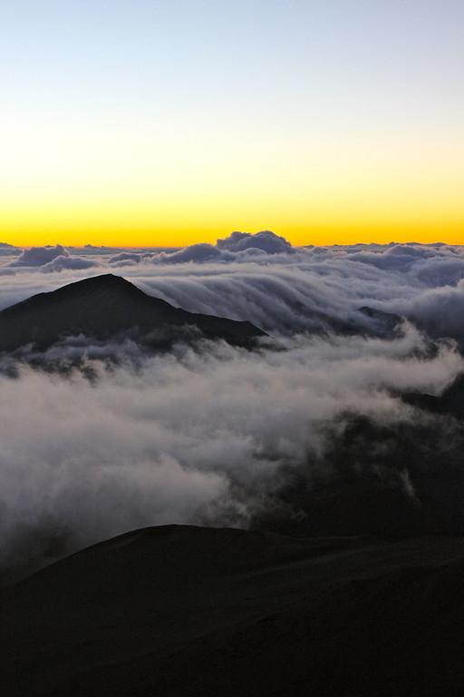 Sunrise from Haleakala Crater, Maui