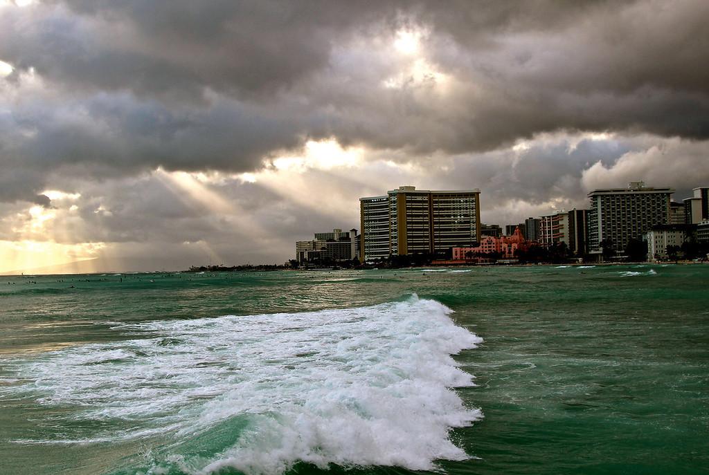 Waikiki<br /> July 2012