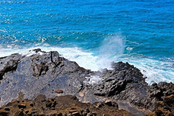 Halona Blowhole, Oahu