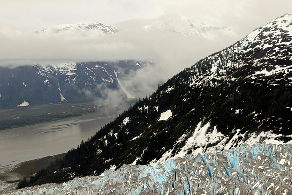 Juneau ice field Alaska, June 2013