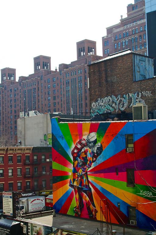 Highline Manhattan, March 2014