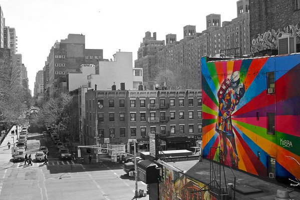 Highline Manhattan, March 2014