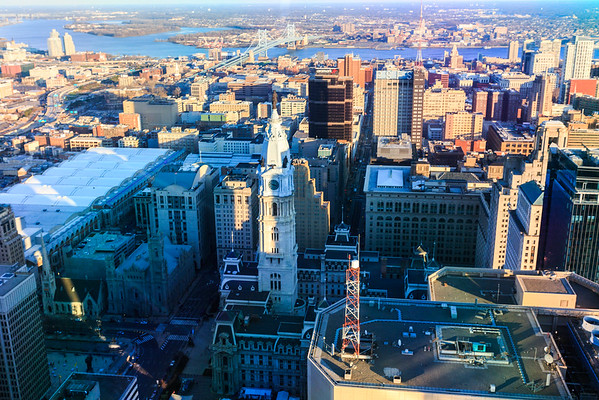 View from One Liberty Place
