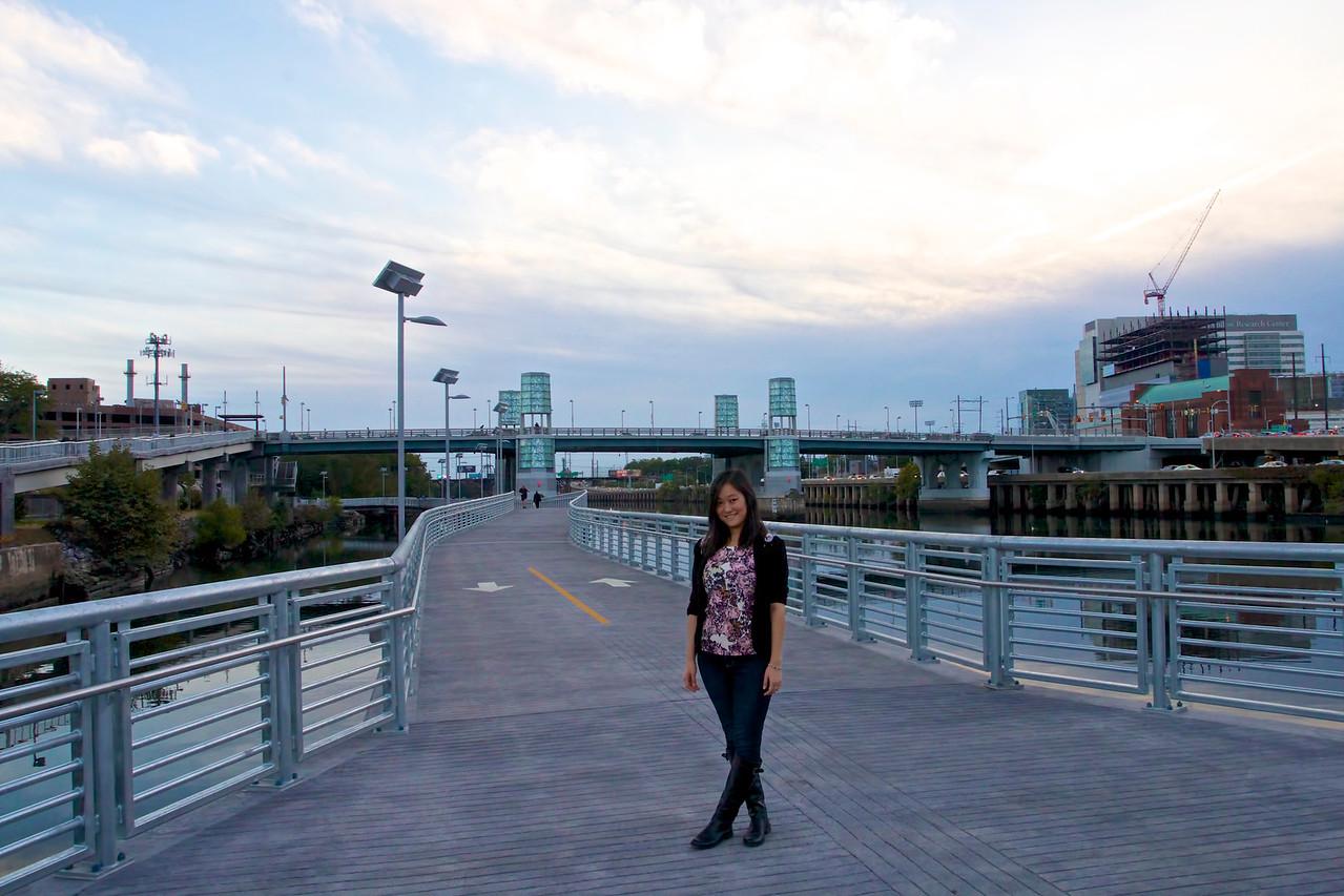 New Schuylkill River Trail Boardwalk, October 2014