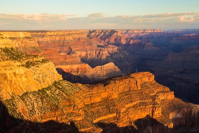 The Grand Canyon: Mather Sunset, Hopi Sunrise