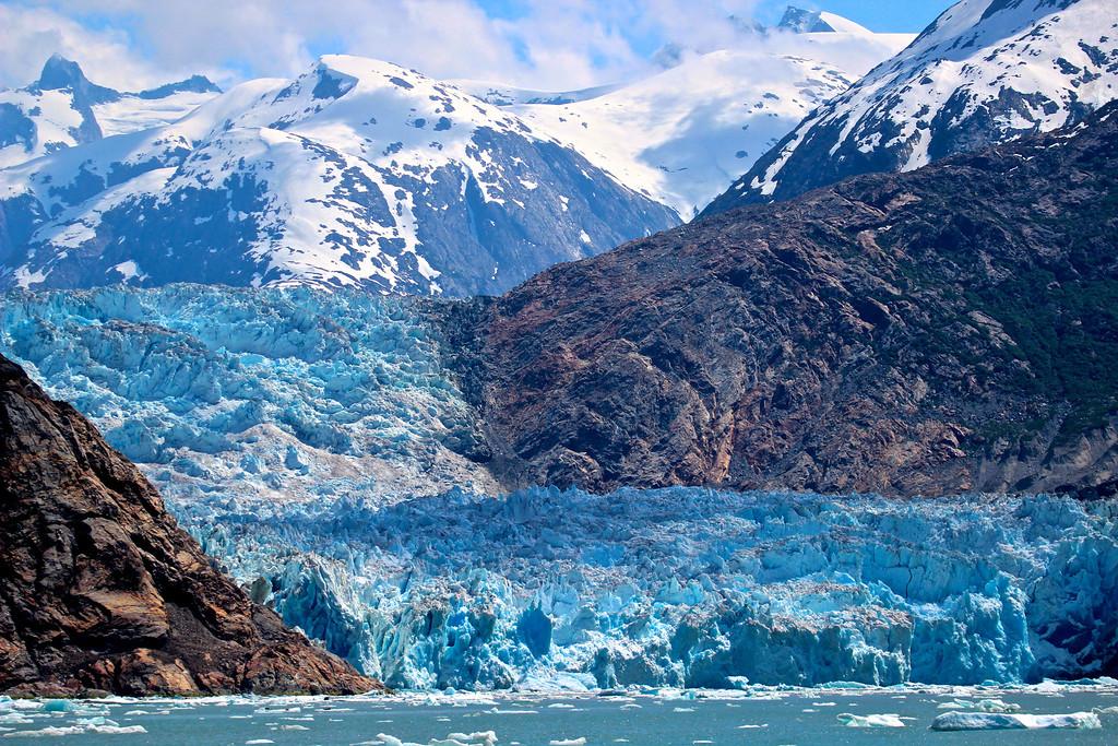 Sawyer Glacier<br /> Tracy Arm Fjord<br /> Alaska, June 2013