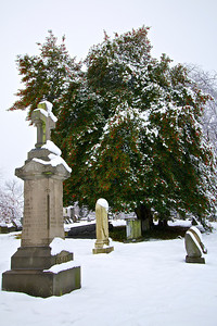 Woodlands Cemetery, Philadelphia. December 9, 2013