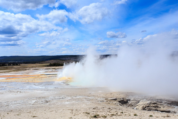 Lower Geyser Basin, Yellowstone