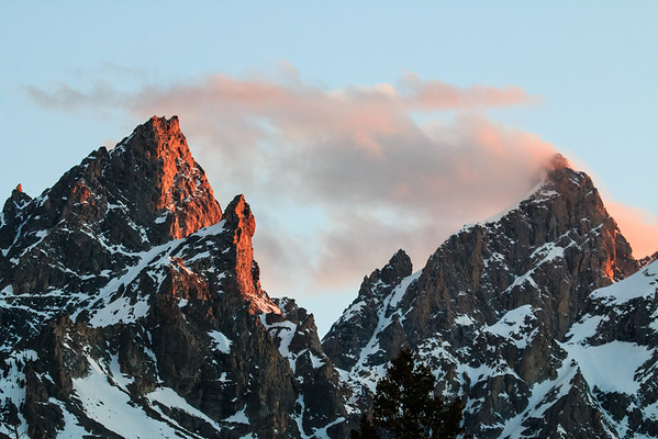 Alpine Glow, Grand Teton National Park