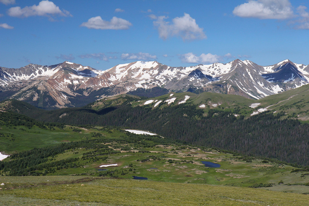 Near the Alpine Visitor Center,<br /> Rocky Mountain National Park, CO.<br /> Copyright 2011, Tom Farmer