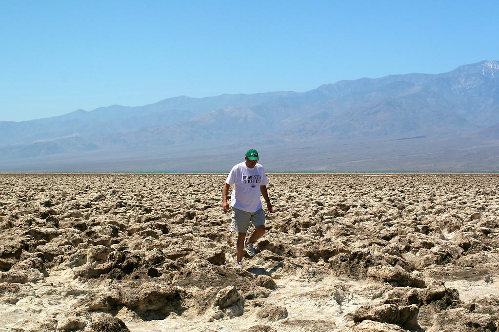 The Devil's Golf Course, Death Valley National Park<br /> Copyright 2006, Tom Farmer