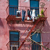 New York fire escape<br /> Copyright 2007, Tom Farmer