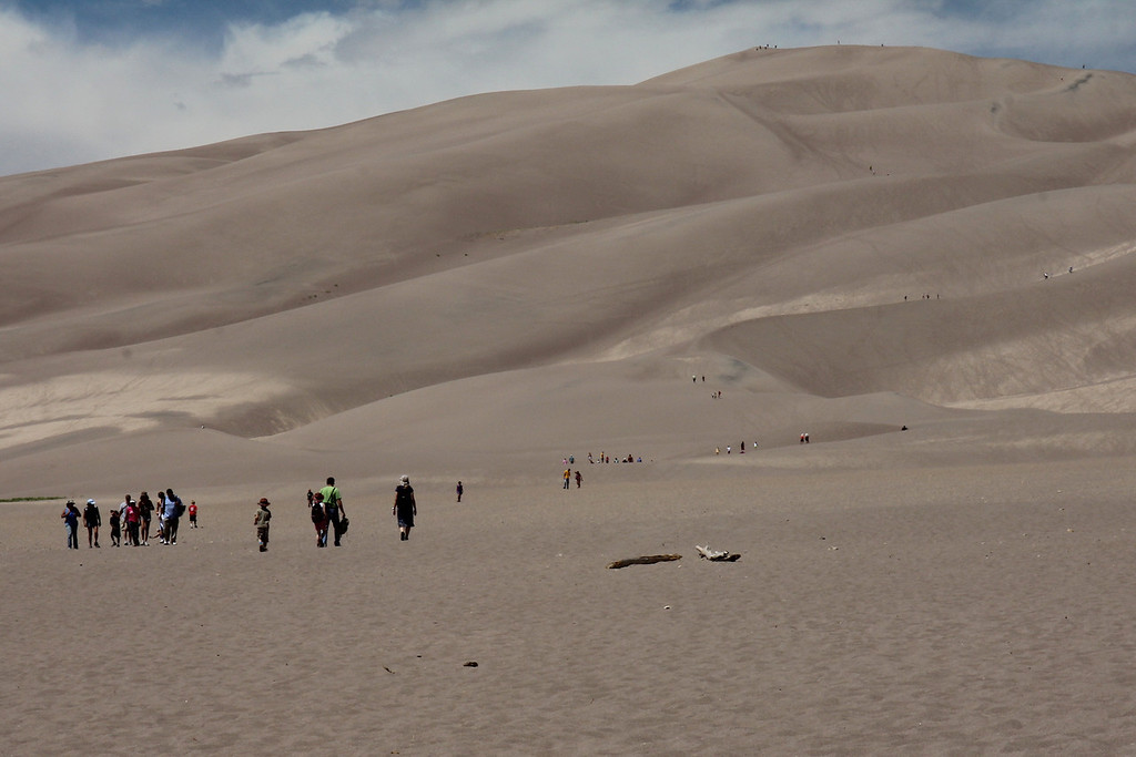 Great Sand Dunes National Park, CO.<br /> Copyright 2011, Tom Farmer