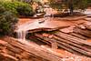 Small Flash Flood in Northern Arizona Desert