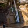 Water Fall at Calf Creek