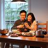 Pre-anniversary dinner (April 24)