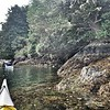 Enjoyed exploring the Tofino coast during a kayak expedition.