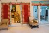 Inner chambers at City Palace, Udaipur, Rajasthan, India.